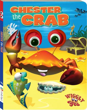 Wiggly Eyes: Chester the Crab