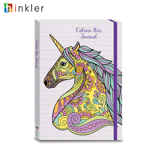 Colour This Journal Unicorn