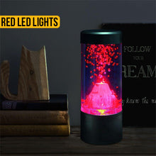 Load image into Gallery viewer, Round Mini Volcano Lamp