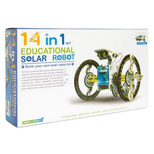 Load image into Gallery viewer, 14 in 1 Solar Robot