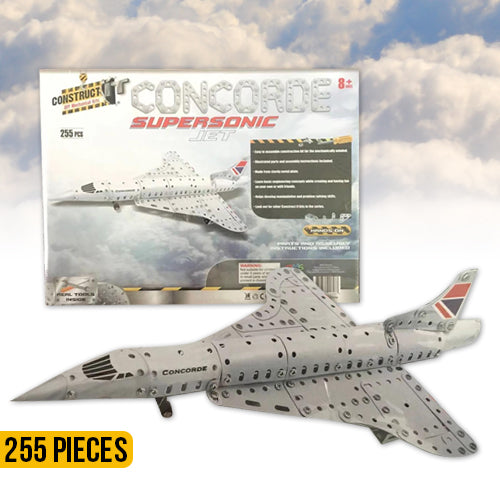 Construct It: Concorde Supersonic Jet