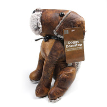 Load image into Gallery viewer, Leatherette Hound Dog Weighted Doorstop