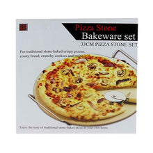 Load image into Gallery viewer, Ceramic Pizza Bake & Serve Set