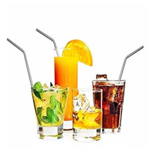 Load image into Gallery viewer, Stainless Steel Drinking Straws
