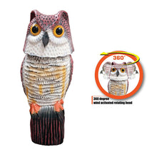 Load image into Gallery viewer, Wind Action Smart Owl - Chemical Free Pest Control