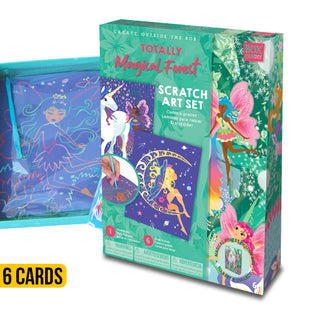 Totally Magical Forest Scratch Art Set