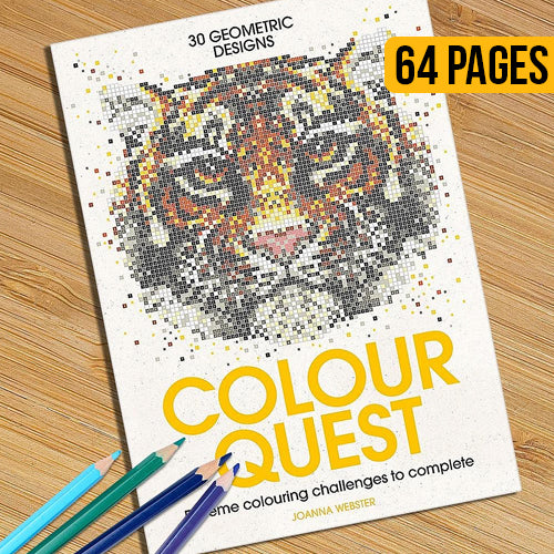 Colour Quest Colouring Book