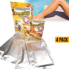 Load image into Gallery viewer, Secret Glo Tanning Glove Wipes - 4 pack