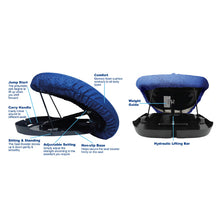 Load image into Gallery viewer, Lift Up Booster Seat - Memory Foam Cushion