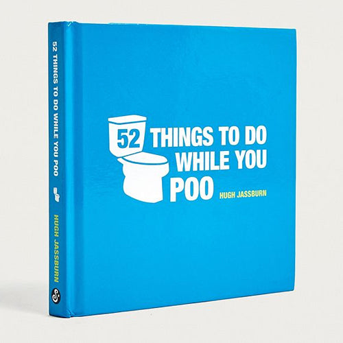 52 Things To Do While You Poo - Book Sale