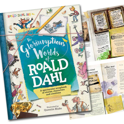 The Gloriumptious Worlds of Roald Dahl - Book Sale