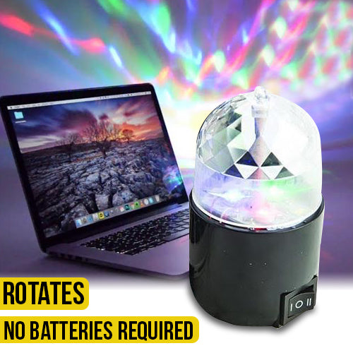 USB Rotating Kaleidoscope Light