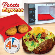 Load image into Gallery viewer, Potato Express Microwave Bag