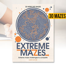 Load image into Gallery viewer, Extreme Mazes Book