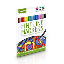 Load image into Gallery viewer, Crayola Fine Line Markers