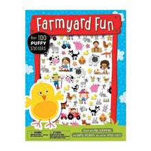 Load image into Gallery viewer, Puffy Stickers Farmyard Fun