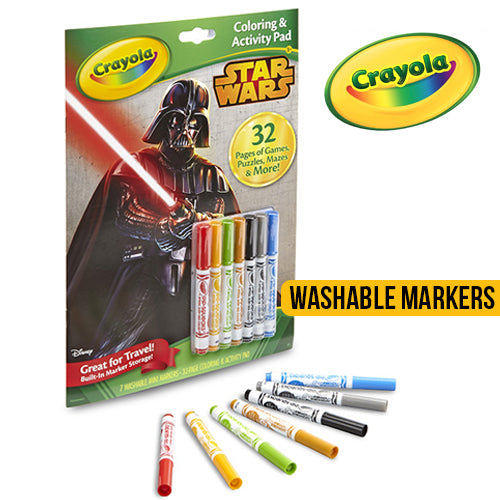 Crayola Star Wars Activity Pad