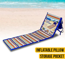 Load image into Gallery viewer, Portable Beach Lounger
