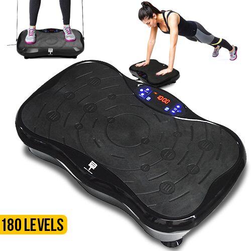 BodyTune Slim Vibration Trainer - Black