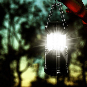 Collapsible COB Lanterns - 3 Pack 360º surround lighting