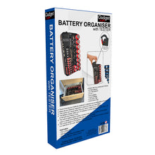 Load image into Gallery viewer, Ultimate Battery Organiser with Battery Tester