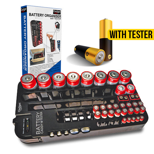 Ultimate Battery Organiser with Battery Tester