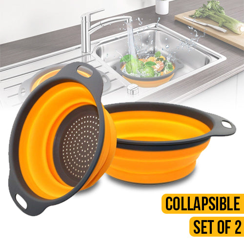 Collapsible Colander 2 different sizes
