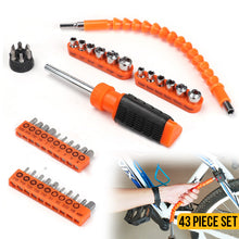 Load image into Gallery viewer, 43PC Screwdriver Bit Set