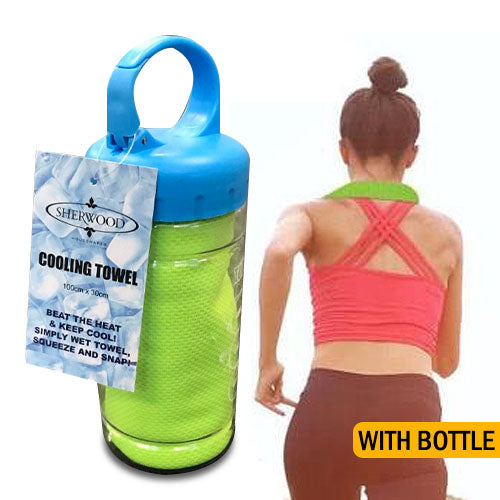 Cooling Towel with Bottle