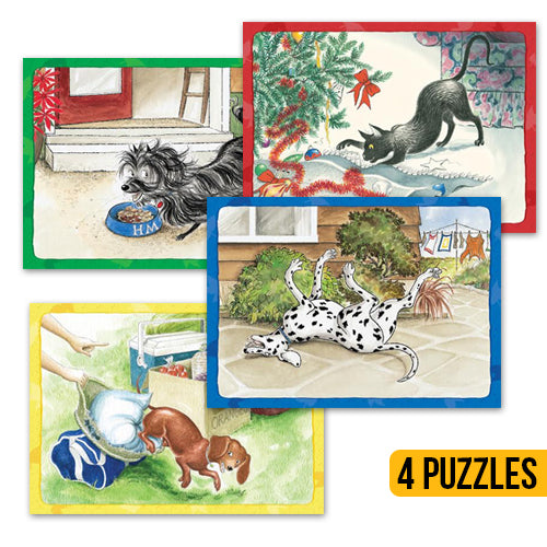 Hairy Maclary Frame Tray Puzzles - Book Sale