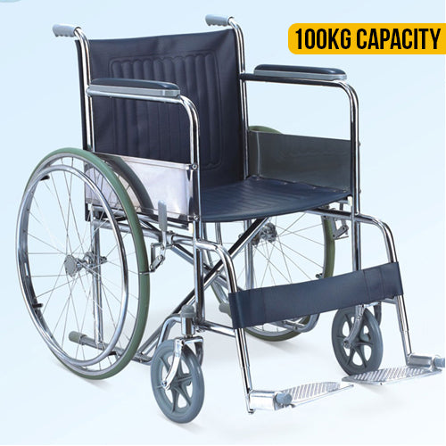 Home Care Metal Wheelchair