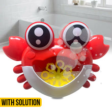 Load image into Gallery viewer, Bubble Machine Crab