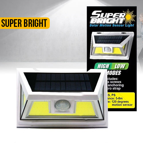 Super Bright Solar Motion Light - New COB Tech