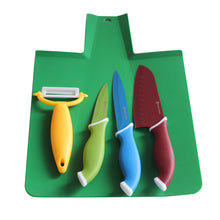 Load image into Gallery viewer, Master Swiss Cutting Board with Knives