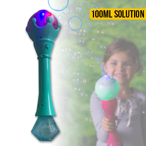 Bubble Wand with Lights and Music