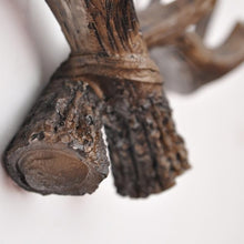Load image into Gallery viewer, Resin Deer Antler Wall Hooks - Brown