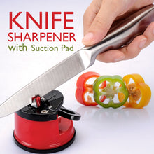 Load image into Gallery viewer, Knife Sharpener with Suction Pad