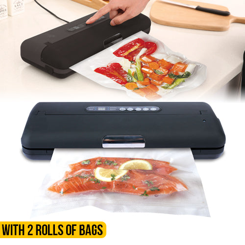Chef Vac Vacuum Sealer Machine - Freshness Stays 5X longer