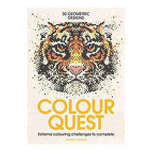 Load image into Gallery viewer, Colour Quest Colouring Book