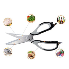 Load image into Gallery viewer, Multi Function Kitchen Scissors