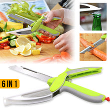 Load image into Gallery viewer, Smart Cutter Knife & Cutting Board