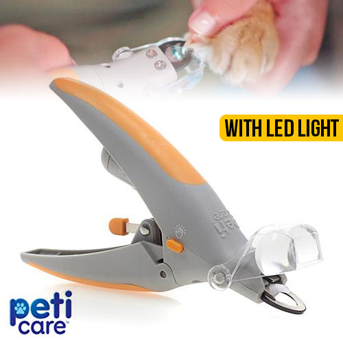 PetiCare Nail Trimmer with LED Light