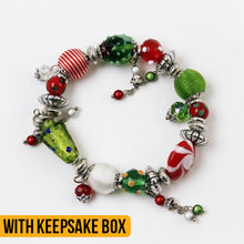 Load image into Gallery viewer, Holiday Cheer Bracelet