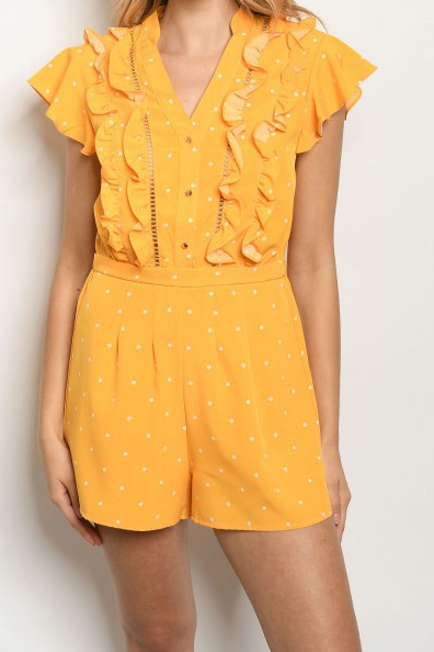 Sunburst Polka Dot Jumper In Stock POP! Stock!