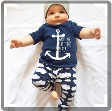 Take Me To The Sea Comfy Infant Set