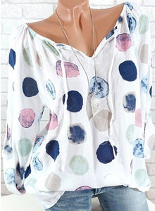 Dottie Dot Springy Top (3 Colors, Up to 5XL!)