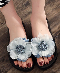 Cornflower Blues Lady Slides (European Sizing. Please read caption.)