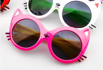 Neon Kitty Kitty Children's Sunglasses