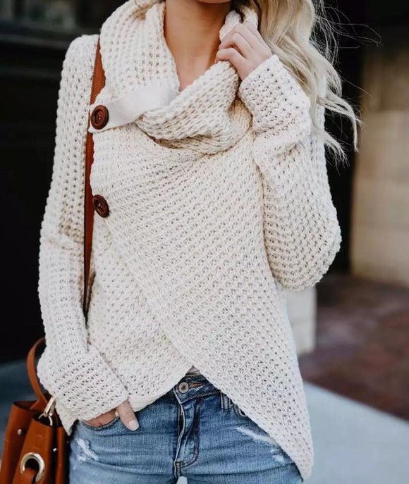 Button Bliss Must Have Sweater!