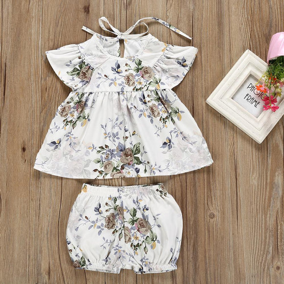 Pretty As A Peony Infant Dress Set